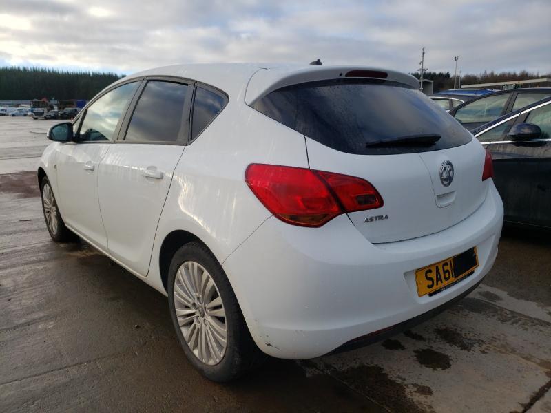 Vauxhall Astra J 1.4 16v 2012