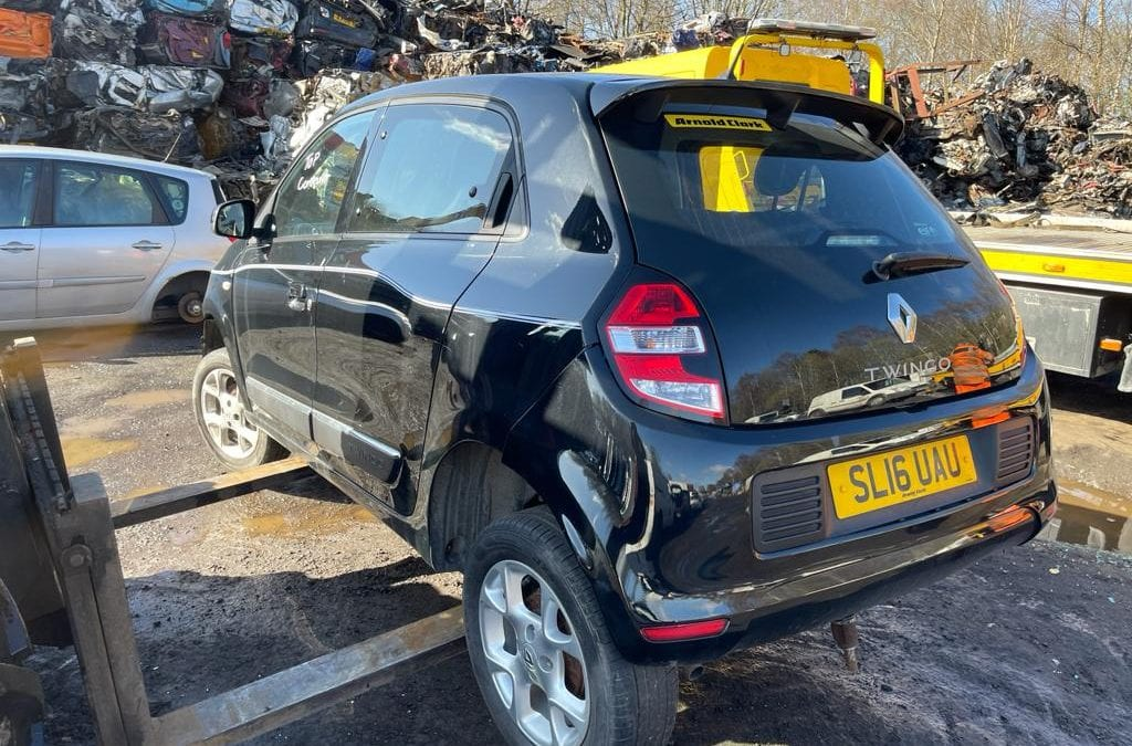 Renault Twingo 1.0 12v 2016